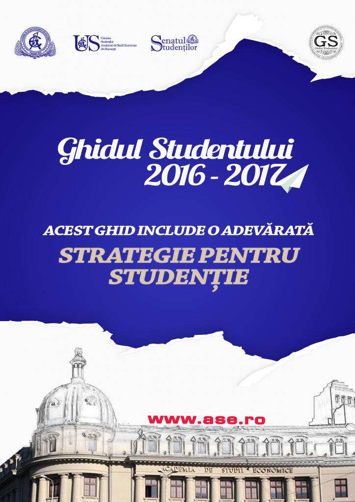 Ghidul Studentului 2016 - 2017