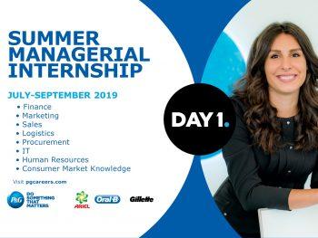 P&G Summer Managerial Internship